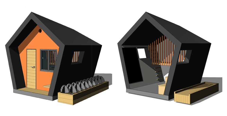Fusion Homes Scratch Architecture Playhouse